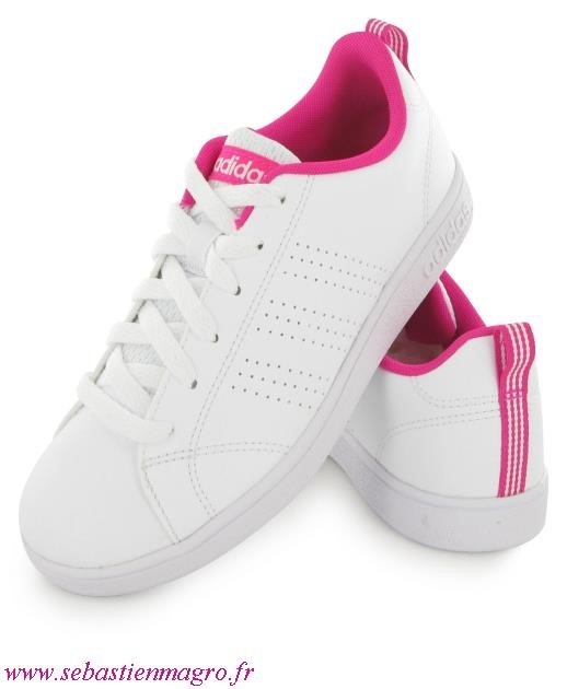 adidas neo blanche rose