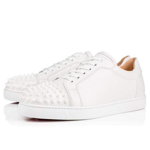 basket blanche louboutin femme
