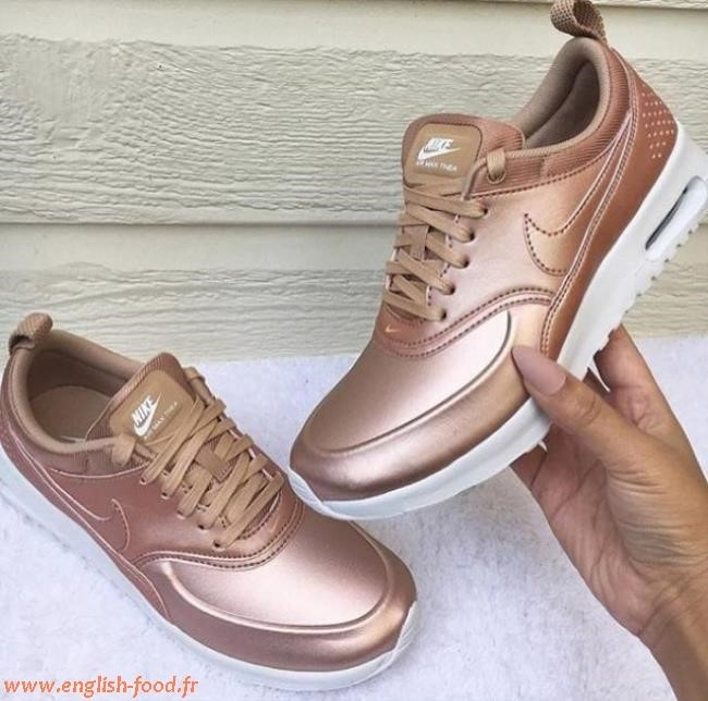 basket nike rose gold en France