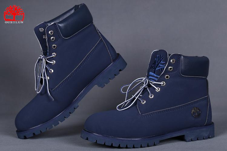 bottines femmes timberland bleu